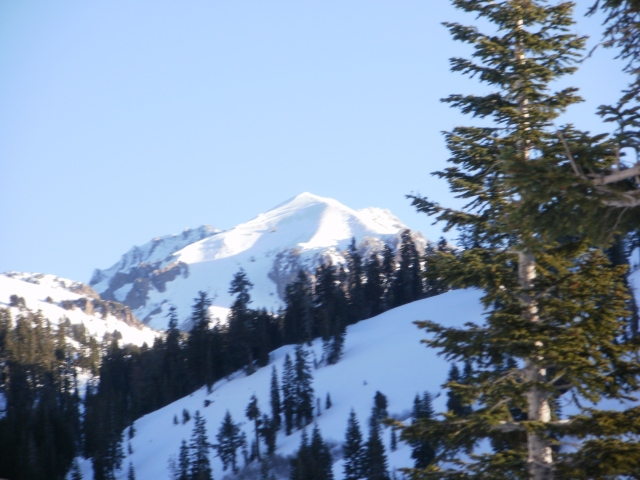 Lassen Peak winter